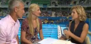 Vestido de presentadora de Río 2016 generó polémica