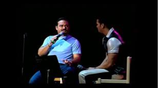 "¡Revive este ""duelo musical"" entre Gilberto Santa Rosa y Víctor Manuelle! (VIDEO)"