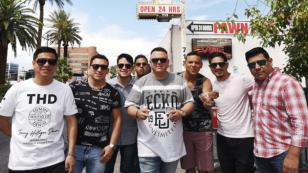 Septeto Acarey llegó a Las Vegas y visitó instalaciones de 'El precio de la historia'