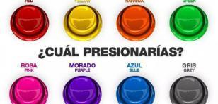 Elige un color y descubre qué  dice de tu personalidad