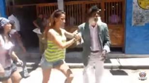 ¡Tienes que ver a este anciano bailando salsa en la calle! (VIDEO)