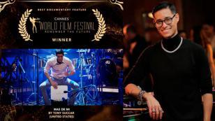 Documental de Tony Succar ganó premio en el Cannes World Film Festival