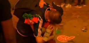 ¡Viral! Niño portugués consuela a francés en la final de la Eurocopa