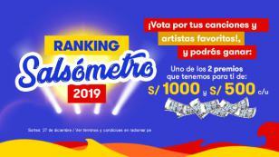 ¡Vota por tus salseros favoritos en el Ranking del Año de Radiomar 2019!