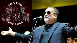 Willie Colón celebró sus 50 años de carrera musical