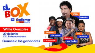 ¡Mira quién ganó el box de Radiomar para el concierto de Willie Gonzales en Barranco!