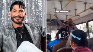 Willie González destaca a joven venezolano que canta sus canciones en los buses de Lima