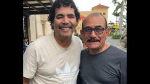 Willie González tuvo encuentro con Charlie Aponte en Puerto Rico