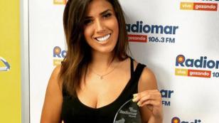 Yahaira Plasencia recibió el premio a Mejor Voz Femenina del 2018 del ranking de Radiomar