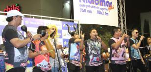 Radiomar Plus arrasó en Plaza Norte con Zaperoko, Kllao Salsa y Marco y los duros